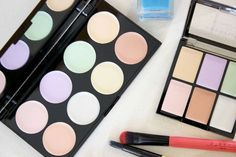 Battle of the corrector palettes - Makeup Revolution Ultra Base Corrector vs Freedom Makeup Pro Correct
