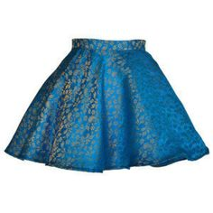 Style Icon's Closet 50s style Vintage Inspired Pin-Up African Print Retro Rockabilly Clothing — Midas Jacquard Turquoise Full Circle Party skirt