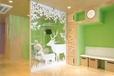 Such Playful Area - Teradadesign architects: matsumoto kids dental clinic www.carch.ca/healthcare/ Toronto Healthcare Architects