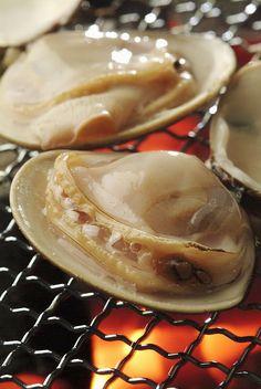 焼きハマグリ Yaki Hamaguri (Baked clams)