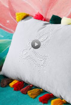 Watch Personalize a Pillow (in 30 minutes) in the Better Homes and Gardens Video