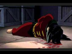 A video of Robin's (Jason Todd) death. I literally almost cried. This movie was so good.