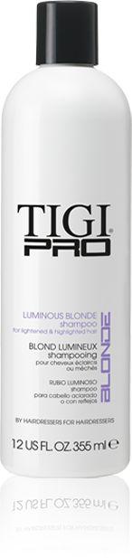 Tigi PRO Luminous Blonde Shampoo 355ml.