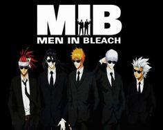 Bleach - Men in Bleach - Anime