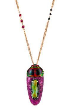 Geisha Pendant by Daniela Villegas