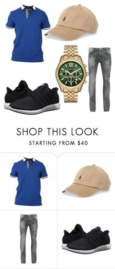 """29"" by tayvonrose ❤ liked on Polyvore featuring MICHAEL Michael Kors, Polo Ralph Lauren, Religion Clothing, adidas, Michael Kors, men's fashion and menswear"