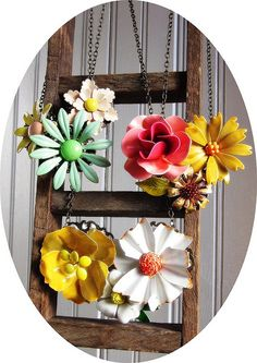 new spring 2013 necklaces. by bee vintage redux.