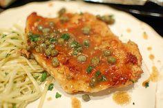 Classic Chicken Piccata Recipe - #RecklessAbandon