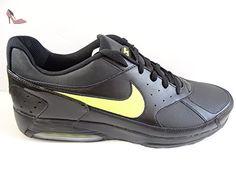 reputable site bcb52 76ca2 NIKE Air Max Professeurs à chaussures baskets pour homme 488120 Sneakers en  cuir - - black
