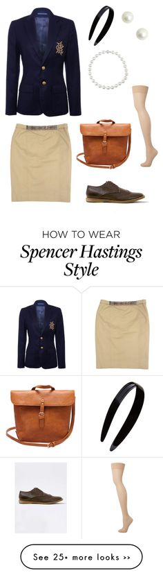 """""""PLL contest   Spencer Hastings"""" by rosiemccumiskey on Polyvore"""