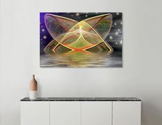 Discover «Angle Of The Aqua», Limited Edition Canvas Print by Glink - From $59 - Curioos