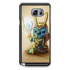 Stitch Loki Thor TATUM-10180 Samsung Phonecase Cover Samsung Galaxy Note 2 Note 3 Note 4 Note 5 Note Edge