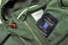 howies Airman Ventile Jacket Olive - Sneak Peek