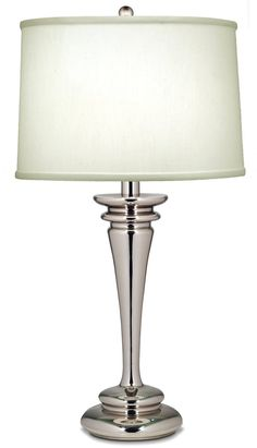 Silver Finish Table Lamps Stiffel Lamps | High Quality Craftsmanship Made in the USA | LampsUSA