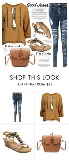 """""""Tear it Up: Distressed Denim"""" by katjuncica ❤ liked on Polyvore featuring Marc Jacobs, distresseddenim and distressedjeans"""