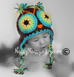 I finally got jd an owl hat that sorta looks like this :)