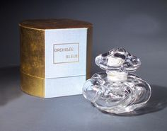 Orchide Bleu, a BACCARAT perfume bottle for Corday 1925