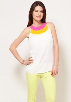 a53e6ae0a71 Buy United Colors of Benetton White Blouse Online - 4251249 - Jabong