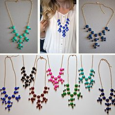 itty bitty j.crew necklaces only $13.99