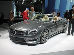 Mercedes' SL65 AMG with 621 horsepower and 740 pound feet of torque. #FAST