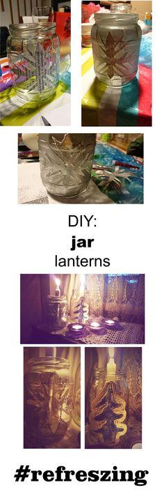 How many jars do we through out? Too many. I used mine as a lantern.
