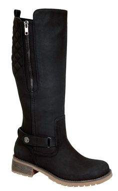Todd-1 Women's Low Heel Knee High Causal Riding Boots with Buckle Design -- This is an Amazon Affiliate link. Read more reviews of the product by visiting the link on the image.