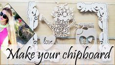 PETRONELA | CHIPBOARD FOR CRAFTS - how to make it