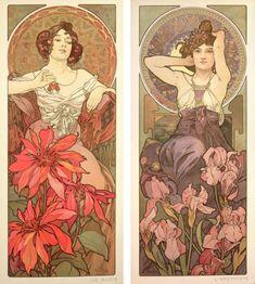 Mucha et les bijoux Art nouveau - The French Jewelry Post by Sandrine Merle