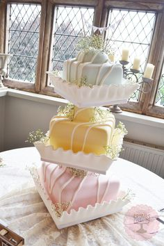 As we both love French Fancies (especially James❤️) this would be our perfect wedding cake