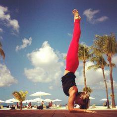 Yoga by the beach #yoga