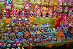 mascaras para el dia de los muertos #mexico