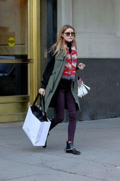 The Olivia Palermo Lookbook : Olivia Palermo Shopping In New York City