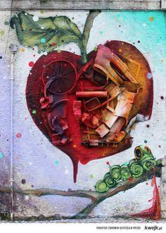 Najfajniejsze Street Arty z całego świata