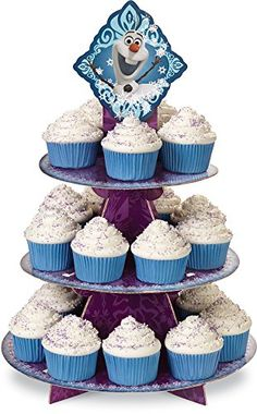 Wilton 1512-4500 Disney Frozen Cupcake Stand, 2015 Amazon Top Rated Cupcake Stands #Kitchen