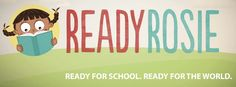 ReadyRosie is an online school readiness resource for parents, teachers and community members. Visit readyrosie.com!