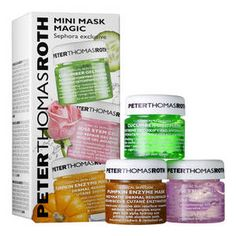 Mini Mask Magic Kit - Trio di maschere di Peter Thomas Roth su Sephora.it