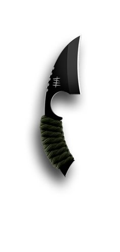 The LFK by Hardcore Hardware Australia, is a series of edged tools designed primarily as overt carry, quick & easy to reach, back-up knives with excellent cutting capabilities, where real estate on an assault platform may be limited. The LFK is available in two different point configurations and features superior strength and maneuverability. The LFK is constructed from D2 Tool Steel, has a robust black teflon coating and shock absorbing para-cord wrap.