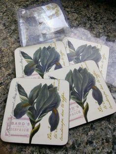 4 x new #royal #staffordshire #drink mat/coasters,  View more on the LINK: http://www.zeppy.io/product/gb/2/122220854821/