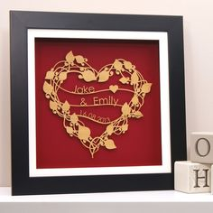 Feel the love with this special piece of wall art!
