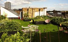 Dalston Roof Park - an oasis rain or shine: http://www.timeout.com/london/venue/19624/dalston-roof-park
