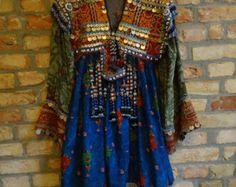 Kuchi Dress 18 by VintagebyZazi on Etsy