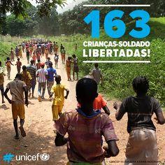 163 crianças  libertadas com ajuda da Unicef
