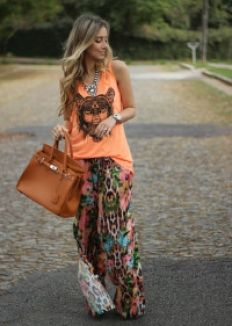 Look da Onça: Pantalona Floral : Onça de Tule – Blog de Moda em BH – Tudo sobre moda, cabelos e maquiagem