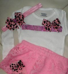 Baby Girl Outfit, Baby Clothing, Onesie and Pants Set, Take Me Home Outfit, Baby Shower Gift, 0 - 3 Months - http://www.babies-clothes.info/baby-girl-outfit-baby-clothing-onesie-and-pants-set-take-me-home-outfit-baby-shower-gift-0-3-months.html