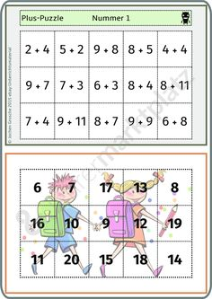 Numicon, School Frame, Word Search, Kindergarten, Puzzle, Classroom, Learning, Kids, Games
