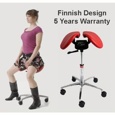 A poor working posture causes the deterioration of the back muscles, hert and organ problems, tissue degeneration, shallow breathing, poor digestion and reduced cerebral blood flow. Salli Saddle Chair has a two-part seat and the height is easil Ercol Dining Chairs, Wayfair Living Room Chairs, Saddle Chair, Swivel Chair, Armchair, Orange Accent Chair, Wood Folding Chair, Brown Leather Recliner Chair, Products