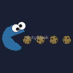Cookie Monster Pacman Shirt