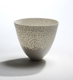 A teacup made of light and air.  Beautiful.  By Eeva Jokinen.