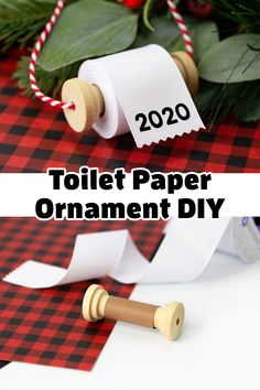 Looking for the perfect homemade Christmas ornament for 2020? Fireflies and Mud Pies fans are loving this easy Toilet Paper Ornament DIY! Grab your ribbon, spools, cardstock, and Cricut to get started. Follow us on Pinterest for more homemade Christmas ornaments for kids and adults. Paper Ornaments, Diy Christmas Ornaments, Easy Ornaments, Christmas Crafts For Adults, Christmas Ornaments To Make, Homemade Christmas Gifts, Gold Christmas, Christmas Tree Care, Christmas Ribbon Crafts