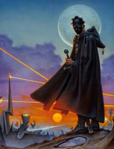 don maitz - book of the new sun, book cover, 1998